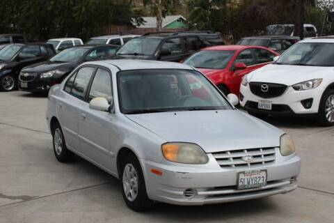 2005 Hyundai Accent for sale at Car 1234 inc in El Cajon CA