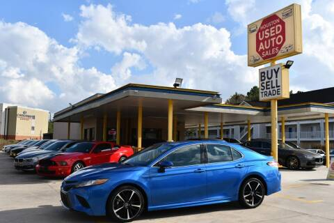 2019 Toyota Camry for sale at Houston Used Auto Sales in Houston TX