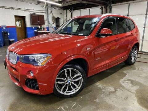 2017 BMW X3 for sale at Sonias Auto Sales in Worcester MA