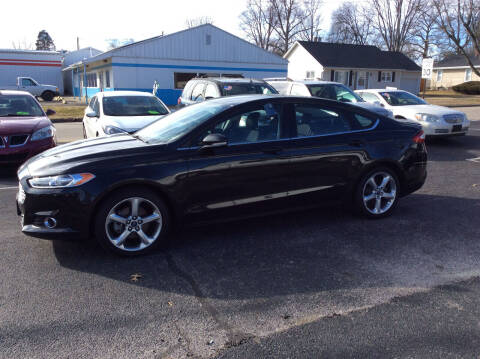 2014 Ford Fusion for sale at BISHOP MOTORS inc. in Mount Carmel IL