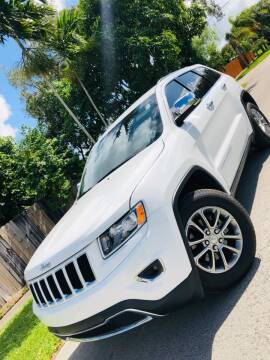 2016 Jeep Grand Cherokee for sale at IRON CARS in Hollywood FL