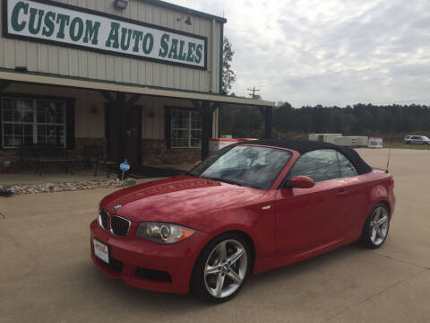 2009 BMW 1 Series for sale at Custom Auto Sales - AUTOS in Longview TX