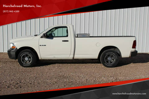 2009 Dodge Ram Pickup 1500 for sale at Harchelroad Motors, Inc. in Wauneta NE