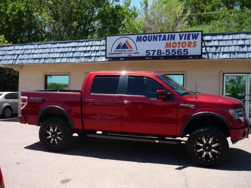2013 Ford F-150 for sale at Mountain View Motors Inc in Colorado Springs CO