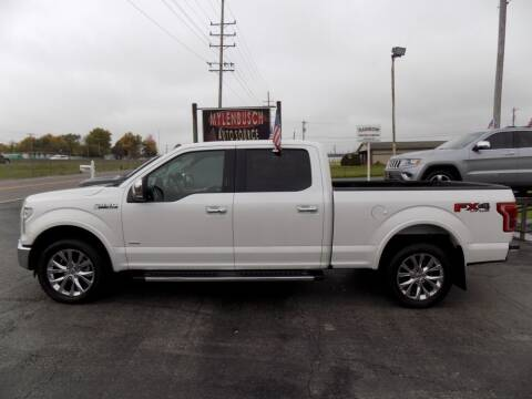 2016 Ford F-150 for sale at MYLENBUSCH AUTO SOURCE in O` Fallon MO