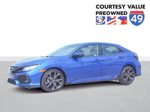 2018 Honda Civic for sale at Courtesy Value Pre-Owned I-49 in Lafayette LA