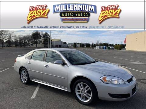 2012 Chevrolet Impala for sale at Millennium Auto Sales in Kennewick WA