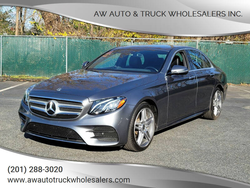2017 Mercedes-Benz E-Class for sale at AW Auto & Truck Wholesalers  Inc. in Hasbrouck Heights NJ