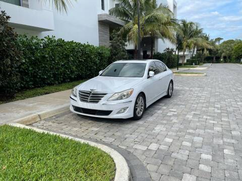 2014 Hyundai Genesis for sale at CARSTRADA in Hollywood FL