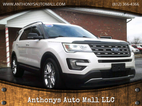 2016 Ford Explorer for sale at Anthonys Auto Mall LLC in New Salisbury IN