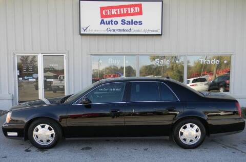 2004 Cadillac DeVille for sale at Certified Auto Sales in Des Moines IA