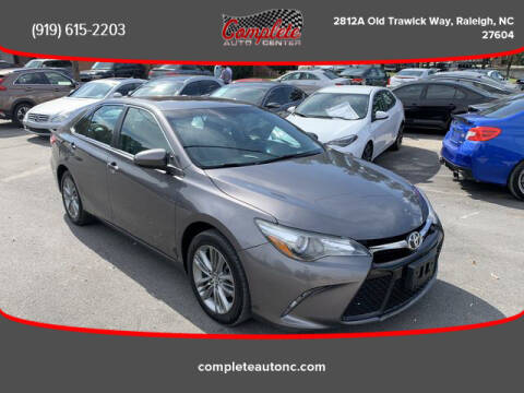 2016 Toyota Camry for sale at Complete Auto Center , Inc in Raleigh NC