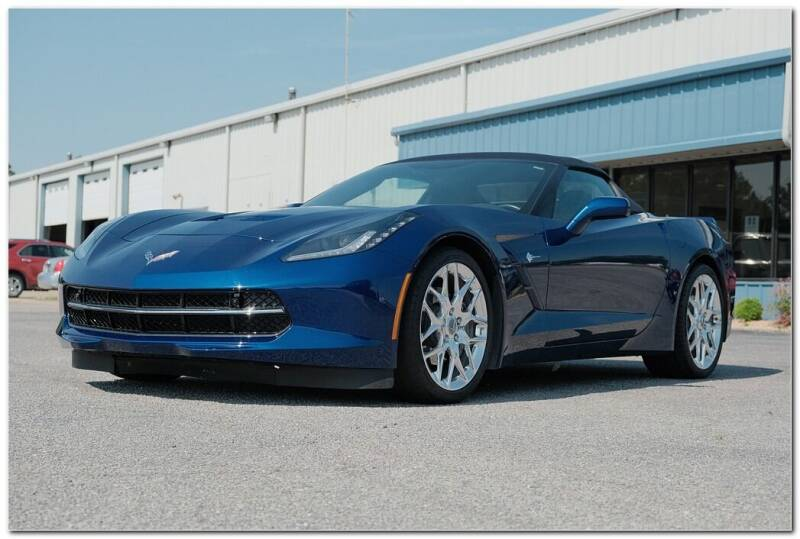 2017 Chevrolet Corvette for sale at STRICKLAND AUTO GROUP INC in Ahoskie NC