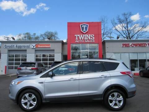 2015 Ford Escape for sale at Twins Auto Sales Inc in Detroit MI