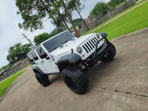 2015 Jeep Wrangler Unlimited for sale at MOTORSPORTS IMPORTS in Houston TX