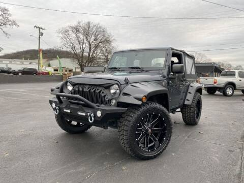 2017 Jeep Wrangler for sale at Auto Credit Group in Nashville TN