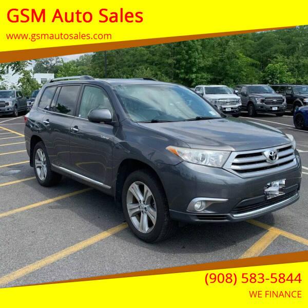 2011 Toyota Highlander for sale at GSM Auto Sales in Linden NJ