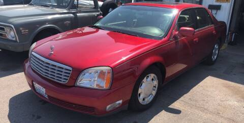 2000 Cadillac DeVille for sale at TTT Auto Sales in Spokane WA