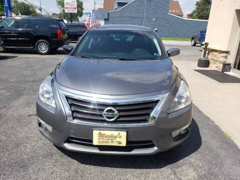 2015 Nissan Altima for sale at Marley's Auto Sales in Pasadena MD