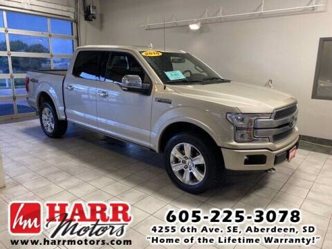 2018 Ford F-150 for sale at Harr's Redfield Ford in Redfield SD