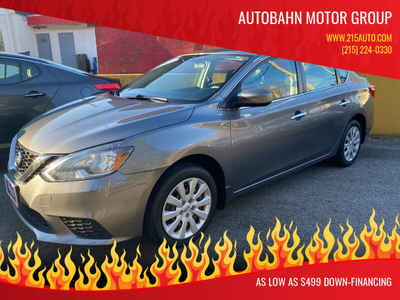 2017 Nissan Sentra for sale at Autobahn Motor Group in Willow Grove PA