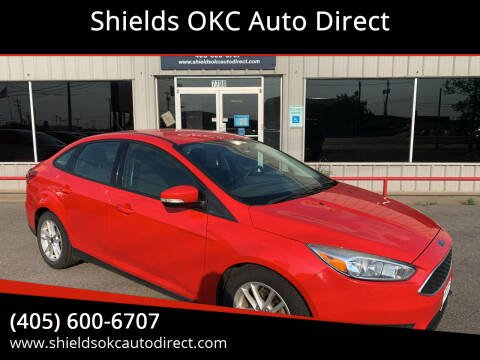 2015 Ford Focus for sale at Shields OKC Auto Direct in Oklahoma City OK