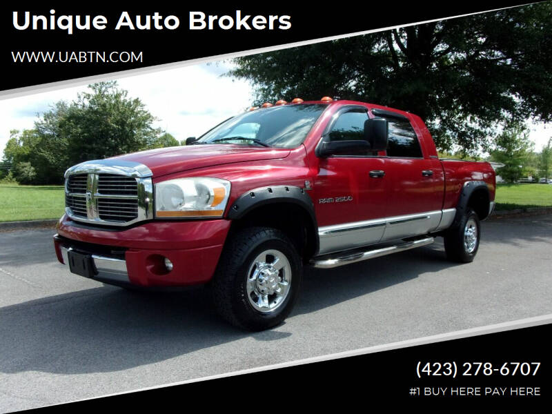 2006 Dodge Ram Pickup 2500 for sale at Unique Auto Brokers in Kingsport TN