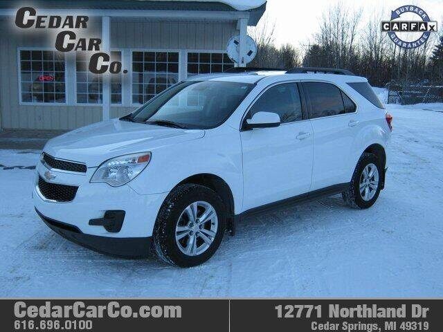 2012 Chevrolet Equinox for sale at Cedar Car Co in Cedar Springs MI