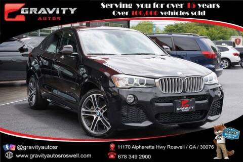 2016 BMW X4 for sale at Gravity Autos Roswell in Roswell GA