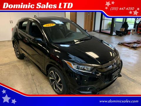2019 Honda HR-V for sale at Dominic Sales LTD in Syracuse NY