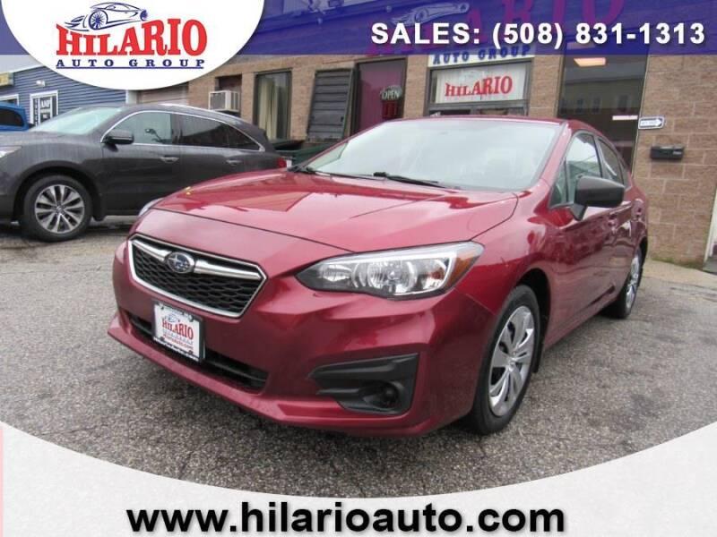 2017 Subaru Impreza for sale at Hilario's Auto Sales in Worcester MA