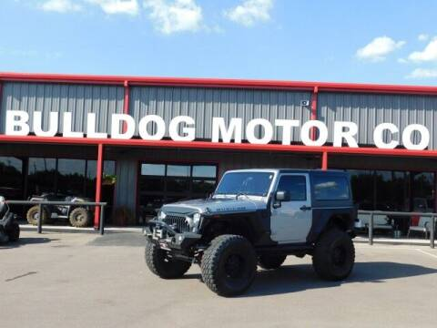 2015 Jeep Wrangler for sale at Bulldog Motor Company in Borger TX