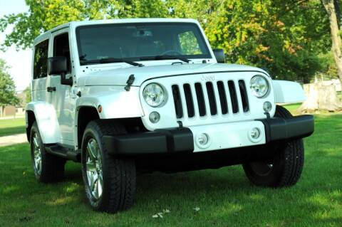 2016 Jeep Wrangler for sale at Auto House Superstore in Terre Haute IN