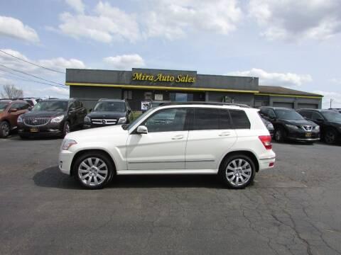 2012 Mercedes-Benz GLK for sale at MIRA AUTO SALES in Cincinnati OH