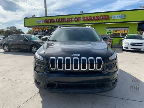 2014 Jeep Cherokee for sale at Auto Outlet of Sarasota in Sarasota FL