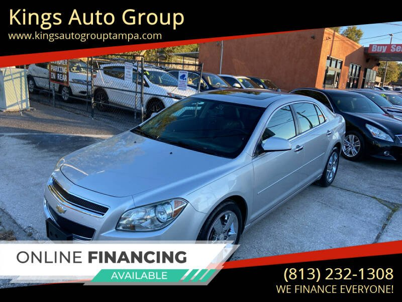 2012 Chevrolet Malibu for sale at Kings Auto Group in Tampa FL