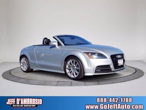2014 Audi TT for sale at Jeff D'Ambrosio Auto Group in Downingtown PA