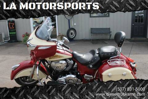2015 Indian CHIEFTAIN for sale at LA MOTORSPORTS in Windom MN