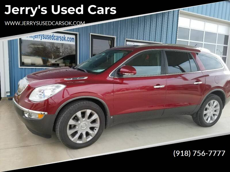 2010 Buick Enclave for sale at Jerry's Used Cars in Okmulgee OK