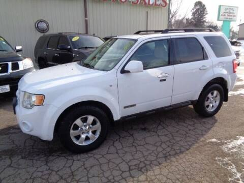 2008 Ford Escape for sale at De Anda Auto Sales in Storm Lake IA