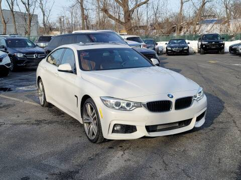 2016 BMW 4 Series for sale at AW Auto & Truck Wholesalers  Inc. in Hasbrouck Heights NJ