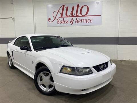 2003 Ford Mustang for sale at Auto Sales & Service Wholesale in Indianapolis IN