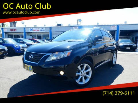 2011 Lexus RX 350 for sale at OC Auto Club in Midway City CA