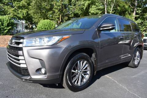 2017 Toyota Highlander for sale at Apex Car & Truck Sales in Apex NC