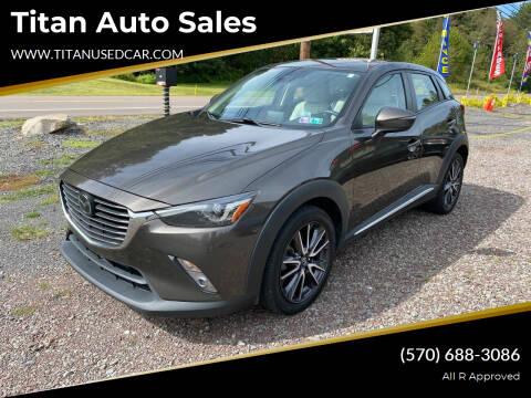 2018 Mazda CX-3 for sale at Titan Auto Sales in Berwick PA