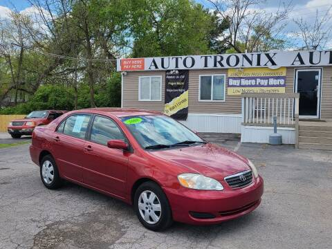 2008 Toyota Corolla for sale at Auto Tronix in Lexington KY