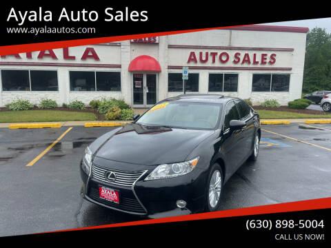 2013 Lexus ES 350 for sale at Ayala Auto Sales in Aurora IL