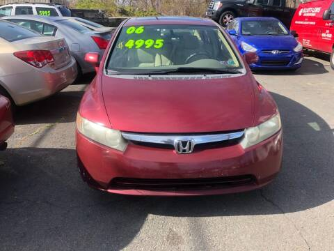 2006 Honda Civic for sale at 22nd ST Motors in Quakertown PA