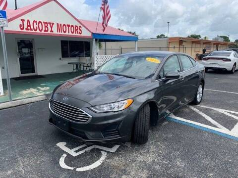 2020 Ford Fusion for sale at Jacoby Motors in Fort Myers FL