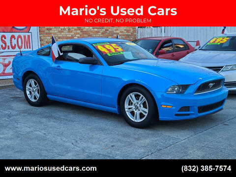 2013 Ford Mustang for sale at Mario's Used Cars - South Houston Location in South Houston TX